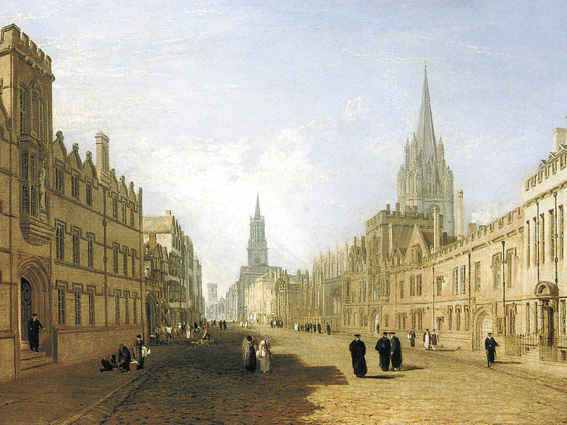 JMW Turner, Oxford High Street 1808